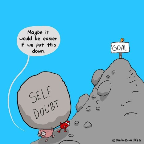 self doubt rock
