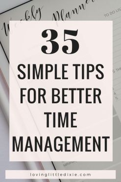 35 Time Management Tips That Will Skyrocket Your Productivity _ Fruitful Home Co_